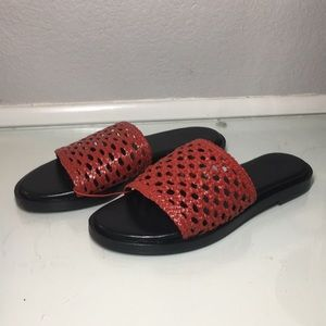 Urban Outfitters Red Sandals